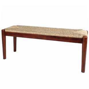 Read Reviews Harlowe Wood Bench By August Grove