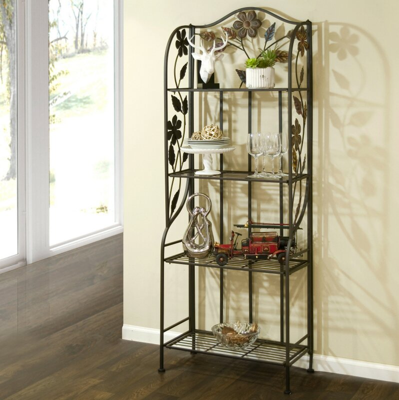 Glamour Home Decor glamour home decor adalynn etagere baker's rack & reviews | wayfair