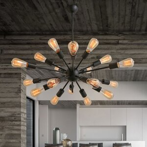 Noemi 14-Light Sputnik Chandelier