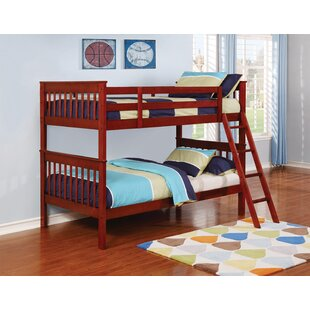 Voigt Twin over Twin Bunk Bed by Harriet Bee