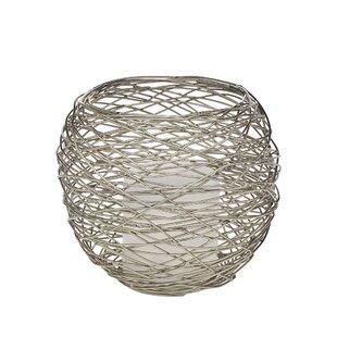 Round Nest Metal Votive