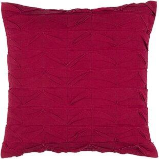 Huckaby Ripple Cotton Throw Pillow