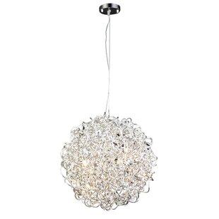 Orren Ellis Morales 6-Light Globe Chandelier