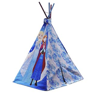 Disney Frozen Play Teepee with Carrying Bag by Idea Nuova