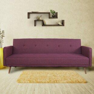 Aldana 3 Seat Fabric Convertible Sofa by ..
