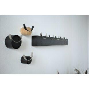 Carlotta Wall Mounted Coat Rack By Ebern Designs