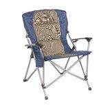 Padded Hard Arm Folding Camping Chair