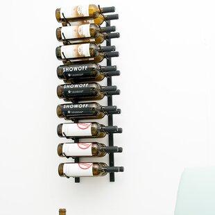 18 Bottle Wall Mounted Wine Rack By Symple Stuff
