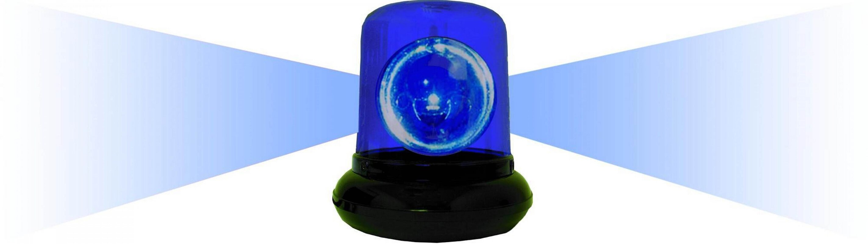 Electrical Police Beacon Light with Color Option