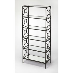 Best Knaus Metal Etagere Bookcase by Everly Quinn