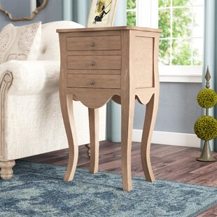 Lora Traditional End Table by Lark Manor