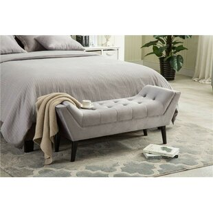 Arianna Upholstered Bench by Wrought Studio Sale