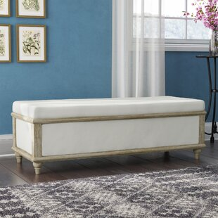 Laurel Foundry Modern Farmhouse Serene Upholstered Storage Bench