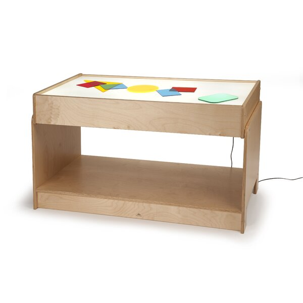 Big Big Light Table Kids Rectangular Arts And Crafts Table U0026 Reviews |  Wayfair
