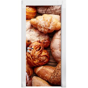 Bread And Buns Door Sticker By East Urban Home