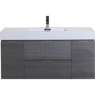 Tenafly 47 Wall-Mounted Single Bathroom Vanity Set