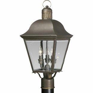 Triplehorn 3-Light Lantern Head in Bronze by Alcott Hill