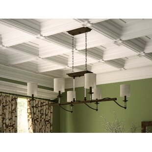 Darby Home Co Middlebrooks 6-Light Shaded Chandelier