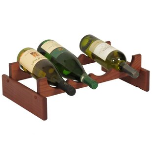 Dakota 4 Bottle Tabletop Wine Rack by Woo..