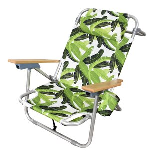 Bayou Breeze Tosca Aluminum Frame 2-in-1 Patio Sling Beach Chair