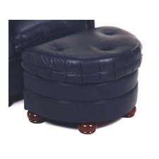 Rockwell Leather Ottoman by Bradington-Young
