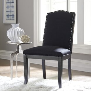 Parsons Upholstered Dining Chair (Set of 2) Alcott Hill
