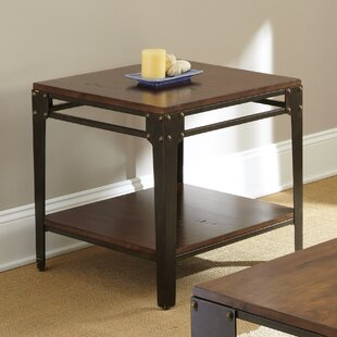 Carmela End Table by 17 Stories