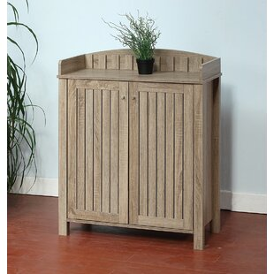 Price comparison Wooden Slat Entryway Shoe Storage Cabinet ByRosecliff Heights