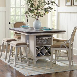 Georgetown Kitchen Island by Beachcrest Home