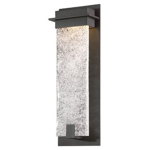 Affordable Lafrance 1-Light LED Outdoor Sconce By Winston Porter