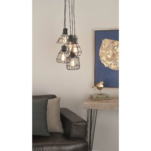 Williston Forge Hoch 5-Light Cluster Pendant
