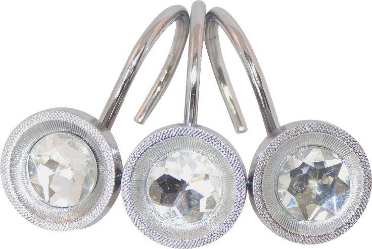Daniels Bath Crystal Shower Curtain Hooks & Reviews | Wayfair