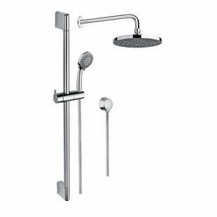 Gedy by Nameeks Superinox Dual Shower Head Complete Shower System