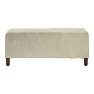 Eden Townhouse Leather Bench By Union Rustic