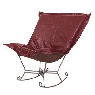 Azaria Scroll Avanti Rocking Chair by Red Barrel Studio