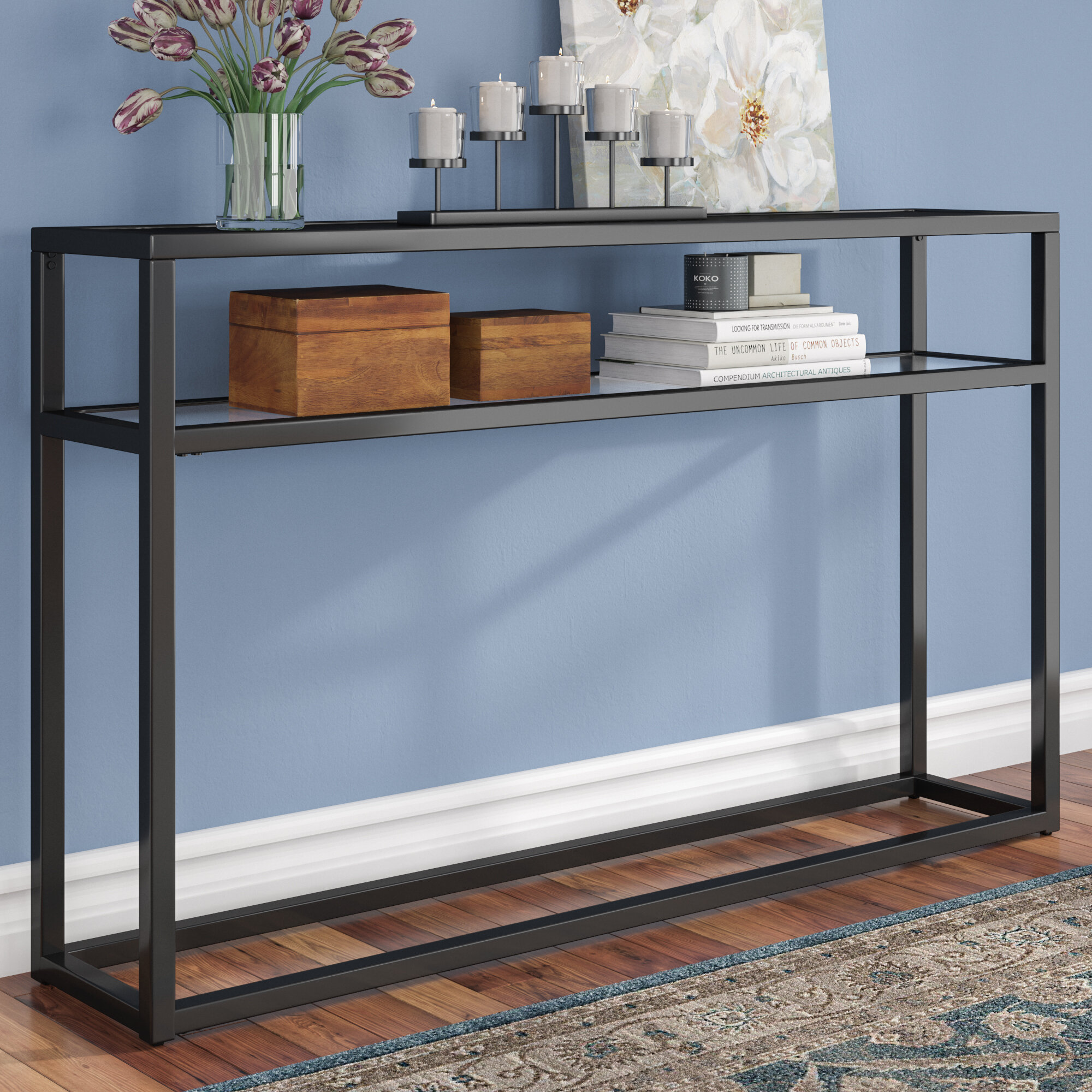 Andover Mills Swanage Console Table Reviews Wayfair