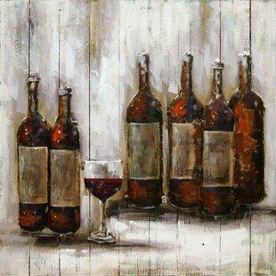 Metal Wine Bottle Wall Decor Wayfair