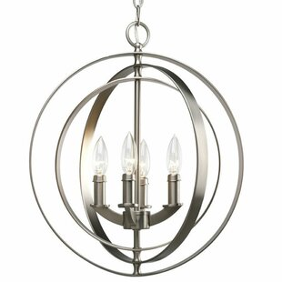 Meleri 4-Lighted Globe Chandelier