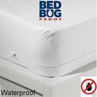 Hypoallergenic Zippered Waterproof Mattress Protector ByAlwyn Home