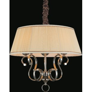 CWI Lighting Biscuit 5-Light Chandelier