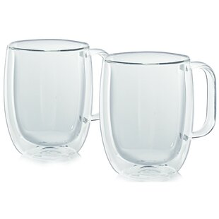 Havana Double Wall Coffee Mug (Set of 2)