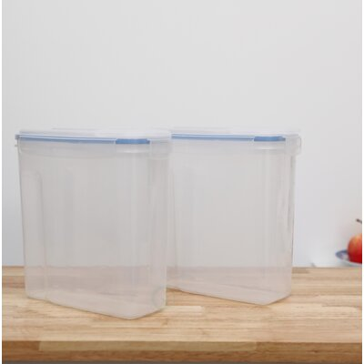 Rebrilliant Large BPA Free Plastic Cereal Bulk Food Storage