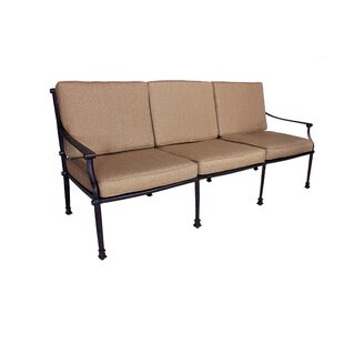 Elzada Deep Seating Sofa with Sunbrella Cushions
