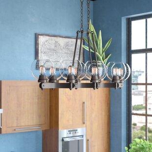 Trent Austin Design Fulton 8-Light Kitchen Island Pendant