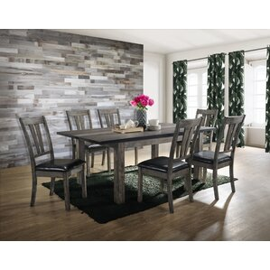 Calliope 7 Piece Dining Set by Loon Peak