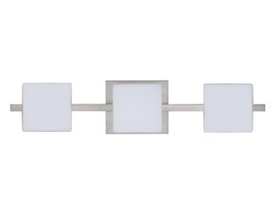 Latitude Run Catella Contemporary 3-Light Glass Vanity Light