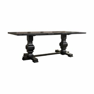 Jaclyn Double Pedestal Dining Table by Ophelia & Co.