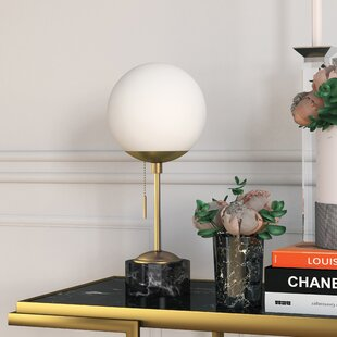 Globe Shaped Table Lamps You Ll Love Wayfair