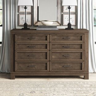 Sallie 8 Drawer Double Dresser by Greyleigh