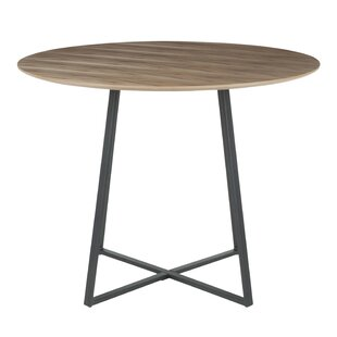 April Contemporary Solid Wood Dining Table